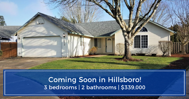 COMING SOON!  3 bed | 2 bath