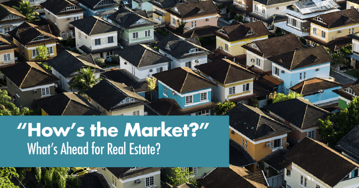 WHAT'S HAPPENING WITH THE HOUSINGMARKET?
